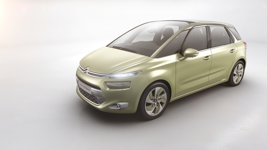 Citroën calls the new concept Technospace