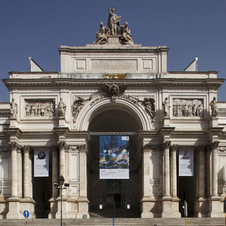 The cars will be displayed at the Palazzo delle Esposizioni