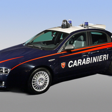 Alfa Romeo 159 Police Vehicle