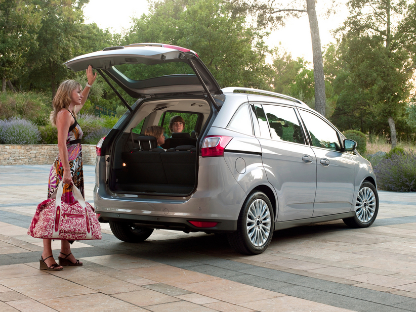 ford grand c max 2 0 tdci powershift titanium 1 photo and 43 specs. Black Bedroom Furniture Sets. Home Design Ideas