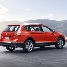 Boot space on the Tiguan Alsspace has been increased by 115l to a total of 730l