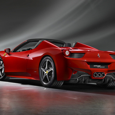 Ferrari add the 458 Spider to its lineup