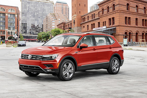 VW Tiguan Allspace is 215mm longer than the standard model