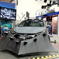 Hyundai Elantra Coupe Zombie Survival Machine