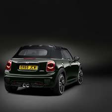 Although more powerful, Mini still managed to reduce consumption in the John Cooper Works Convertible