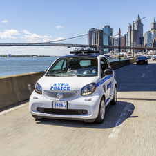 smart fortwo NYPD