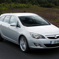 Vauxhall Astra Sports Tourer 1.4 100 SRi