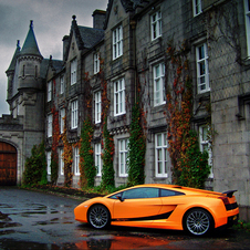 Gallardo Superleggera at Balmoral Castle