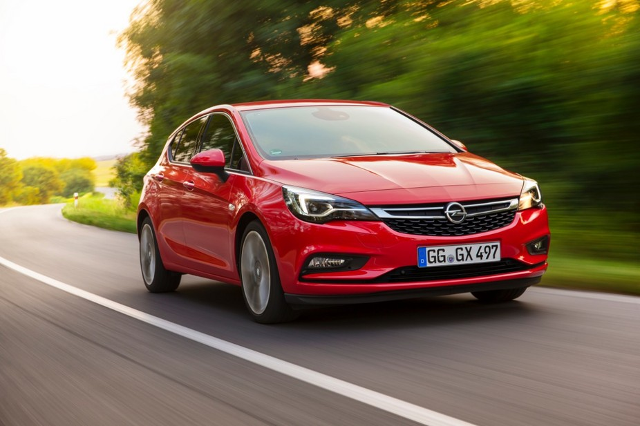 Opel Astra 1.4 Turbo Dynamic Sport