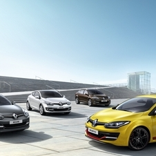 The entire Megane range gets a new nose for 2014