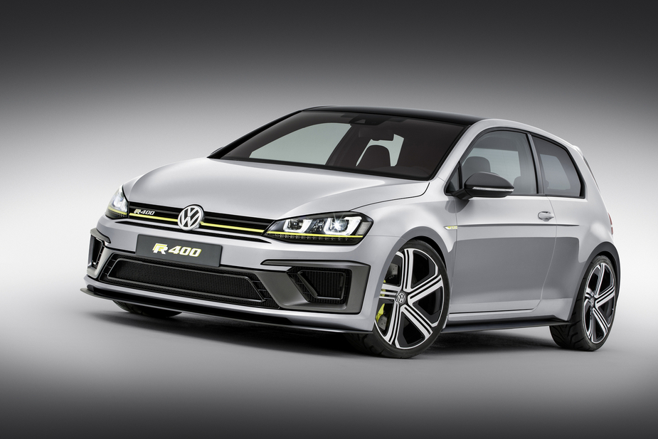 The Golf R R400 was developed by Volkswagen's R division