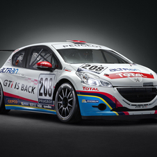 The 208 GTi Peugeot Sport produces 300hp with a six-speed sequential transmission