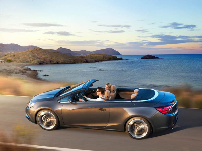 The Cascada would be easiest to sell in the US because it uses the same platform as the Verano
