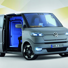 Volkswagen Researching Future Electric Commercial Vehicle
