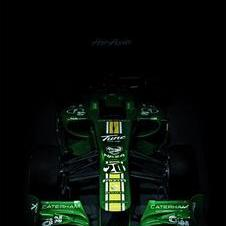Caterham Fully Reveals CT01 Formula 1 car for 2012
