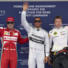 Lewis Hamilton grabbed his third ever pole in Shanghai