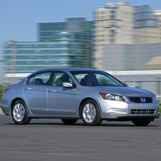 Honda Accord EX 5-Spd AT (USA)