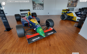 It even has a few of Lamborghini's Formula 1 entries when it was an engine supplier.