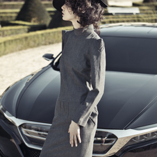 Citroen hired models to pose with the car