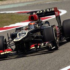 Raikkonen finished second and is three points away from Vettel in the championship