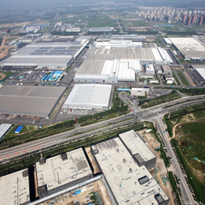Mercedes and BAIC also built an engine factory in China