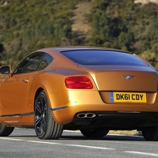 Bentley Continental GT V8