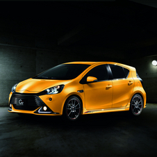 The Aqua G Sports is tuned by Gazoo Racing and imagines a sporty Prius C
