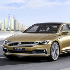 Volkswagen  is preparing to launch in 2016 a new limousine in its range below the Phaeton