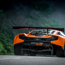 The new GT3 racer is based on the recently unveiled McLaren 650S