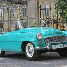 It is an attractive convertible that looks vaguely like a miniature 50s American car