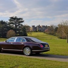 Bentley Mulsanne Diamond Jubilee Edition