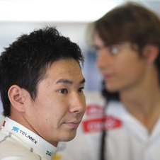 Kobayashi mounted a campaign to find a seat for next season, but it did not work out