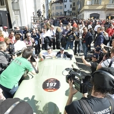 Moss and Dewis were the oldest driver/co-driver team in the Mille Miglia this year