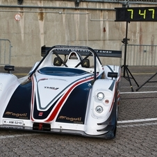 The PV001 set the Nurburgring electric car record