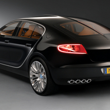 Bugatti Galibier was supposed to be launched in 2015 or 2016