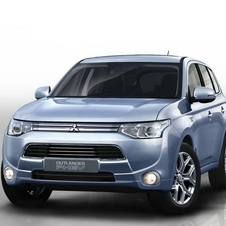 Mitsubishi Introducing Outlander PHEV Plug-In Hybrid in Paris