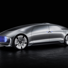 With the F015 Mercedes shows its future vision of a luxury autonomous vehicle