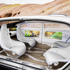Cabin includes four rotating seats that allow a face-to-face configuration during autonomous driving