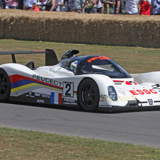 The Mazda 787B and Peugeot 905 won for the 90s