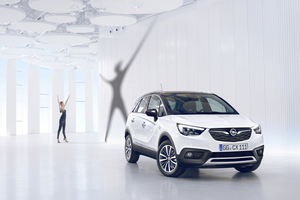 The Crossland X is 4212mm long, 1765mm wide and 1590mm high