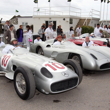 Mercedes will bring a W196 and W154 to Goodwood this year