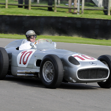 Both cars were among Mercedes very successful Silver Arrows racers