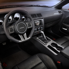The interior is available with black Nappa leather