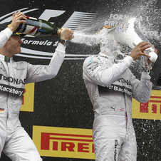 Mercedes got another one-two win in Spain