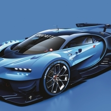 The concept is also described as a preview of the design that will be used in the Veyron successor