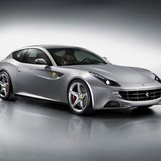 The Ferrari FF together with the F12 will inspire the headlight design of the new California