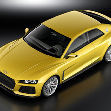 The Sport Quattro Concept uses Volkswagen's new MLB platform