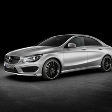 It uses AMG's new 2.0-liter turbocharged four-cylinder with 355hp and 332lb-ft of torque