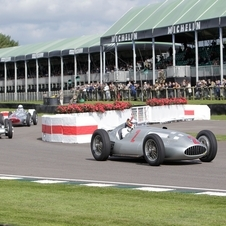 Jackie Stewart will drive the W154 at Goodwoos