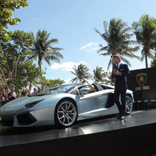 CEO Stephan Winkelmann was on hand for the North American debut